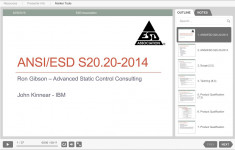 ANSI/ESD S20.20-2014 Changes from the 2007 Version